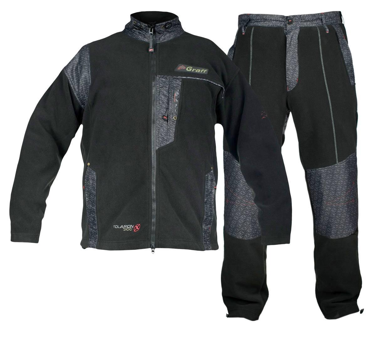 Большой выбор одежды для рыбалки