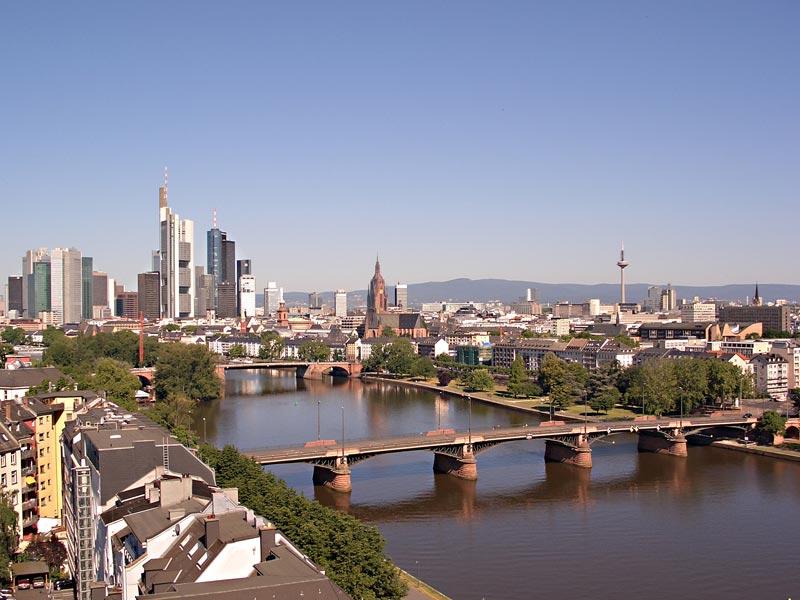 Знакомство с городом Франкфурт-на-Майне