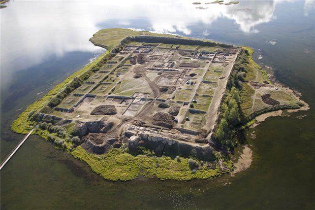 Крепость Пор-Бажин Тува