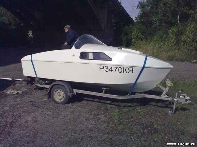 проект лодки сом