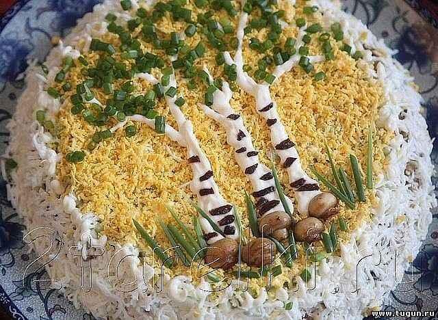 Интересные салатыы простые
