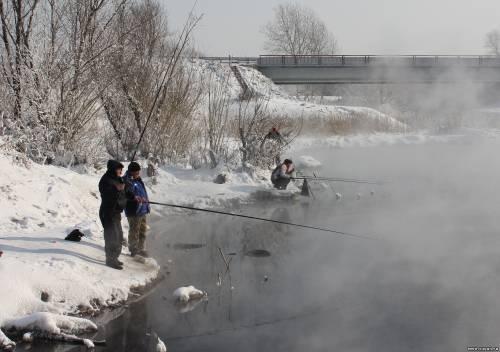 Речка теплая красноярск рыбалка