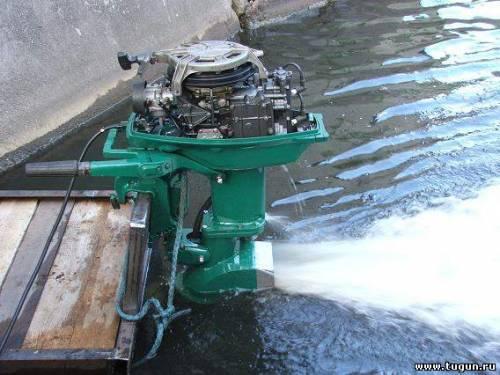 Водомет лодочный мотор своими руками