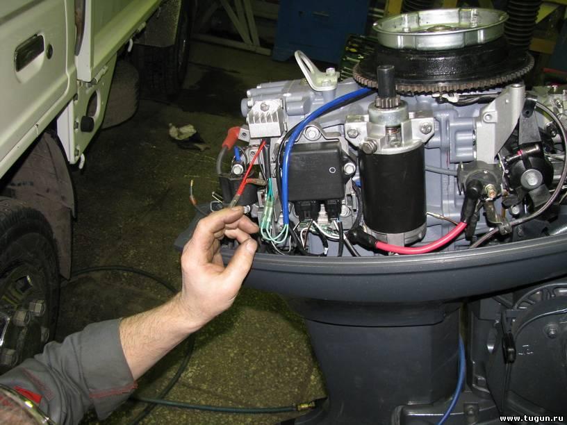 лодочный мотор tohatsu 18 л с