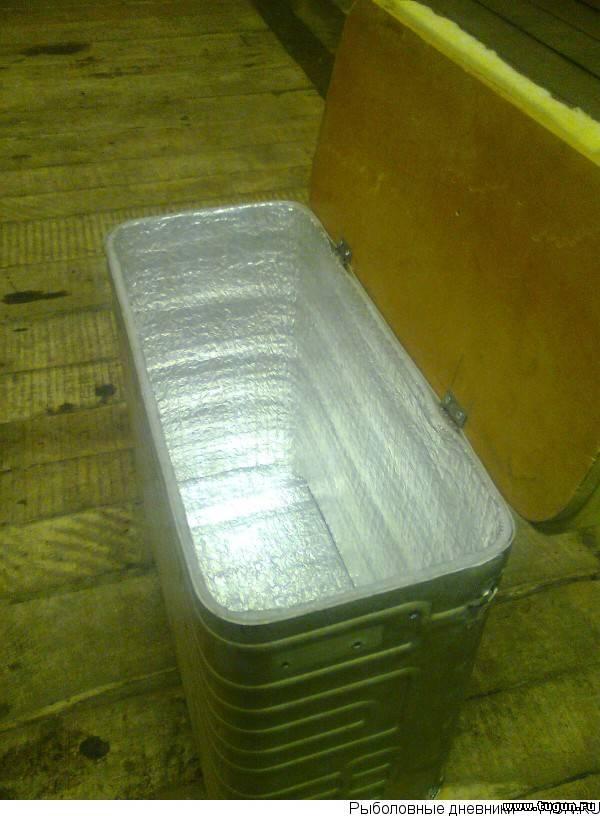 Рыболовный ящик из морозильной камеры холодильника