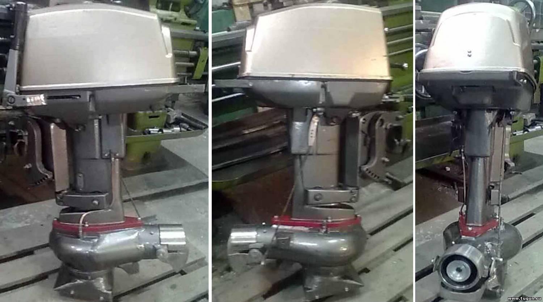 лодочный мотор с водометом в китае