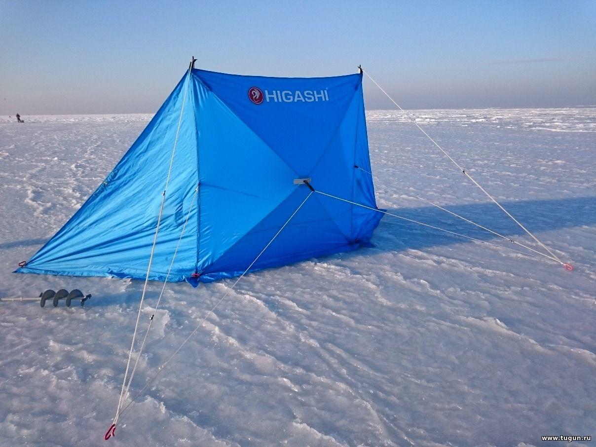 Зимой на рыбалке защита от ветра