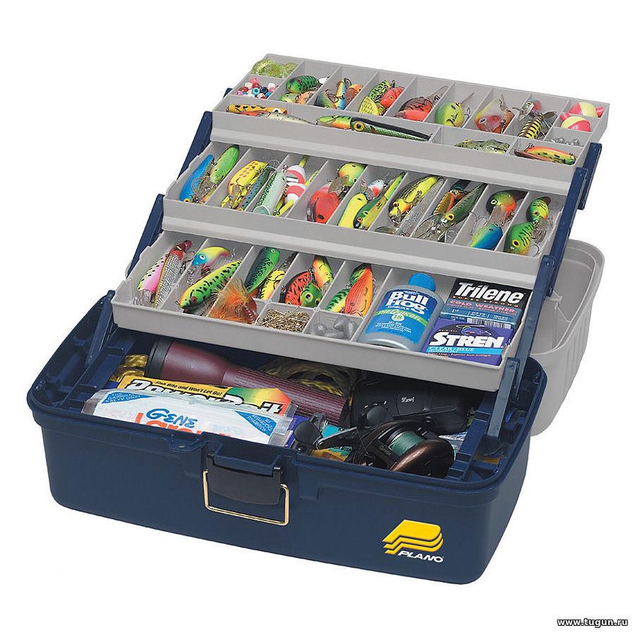 Ящики и рыболовные коробки plano