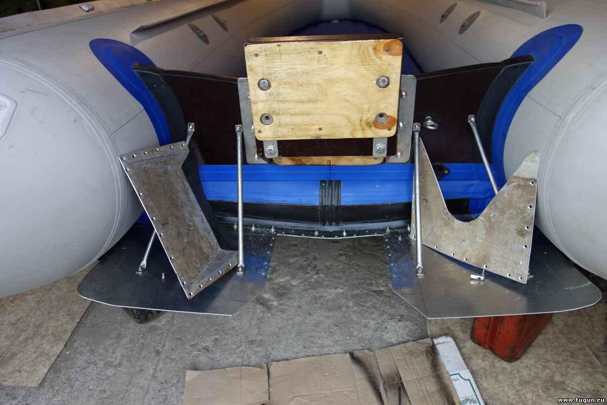 правильный тоннель для лодки