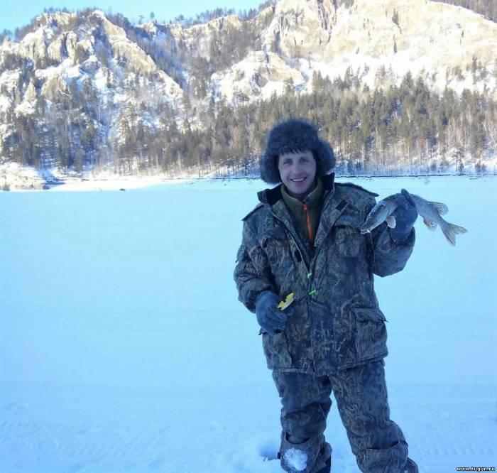 Зимняя рыбалка на квх