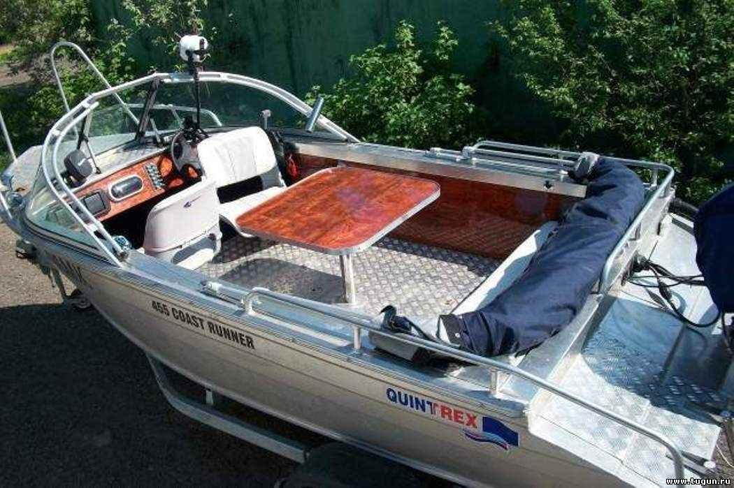 алюминиевые лодки квинтрекс