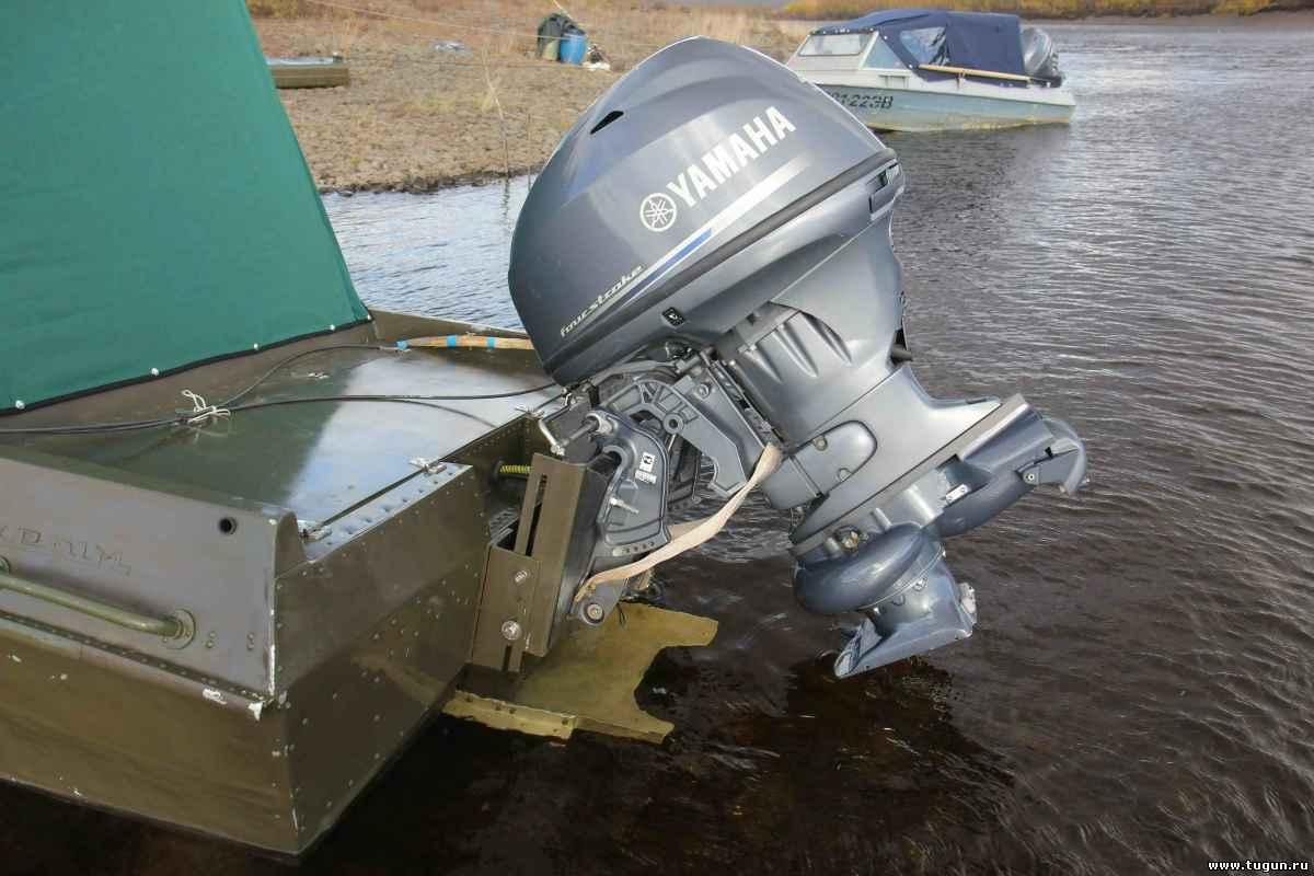 подвесные лодочные моторы своими руками видео