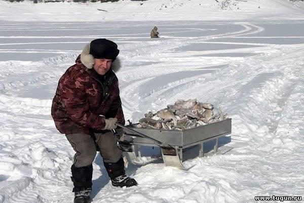 Рыбалка на реках красноярского края зимняя