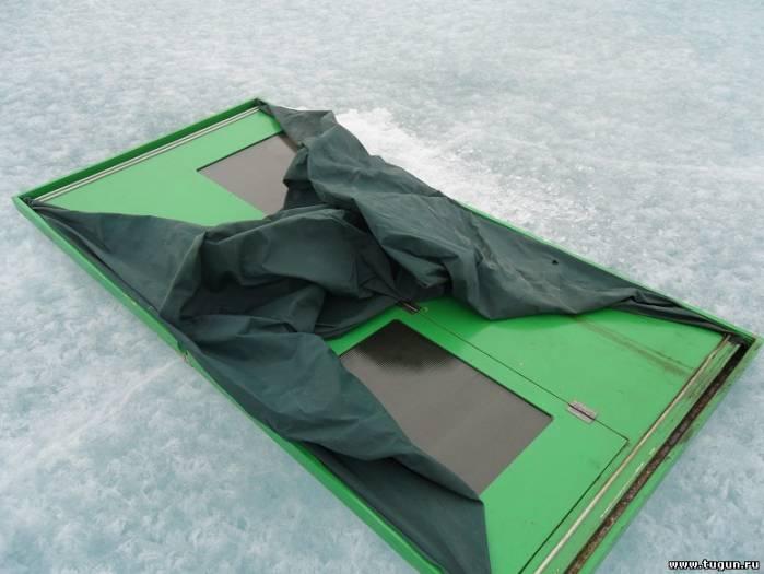 Палатка для зимней рыбалки из фанеры своими руками