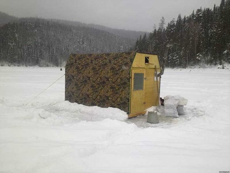 Прицеп для зимней рыбалки